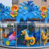 2016 popular series!! outdoor Kids Amusement park sightseeing Carousel