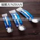 Big metal spoons with high quality and low price made by Junzhan Stainless Steel Products Factory