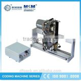 hot selling date ink roll wheel coding machine with reasonable price HP-450