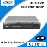2016 latest hybrid rohs h.264 8ch cctv dvr support ip/ahd/analog camera support 2 hdd                                                                         Quality Choice