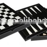 Top Grade 2 in 1 Children Educational Chess Backgammon Game