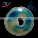 blue agate slices for wholesale