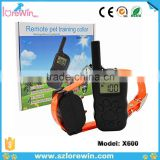 2016 Remote Training Dog Shock Collar For Humans Dog Slave Shock Collar E-collar Electric Dog Collar China X600