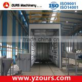 China best quality sand blast booth with recovery system