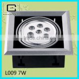 high quality high power 7w ceiling led