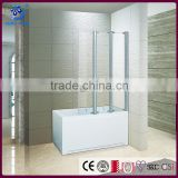 Folding Simple Shower Enclosure Shower Screen For Bath Tub(KD3202)