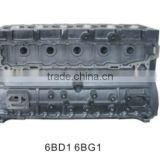 excavator engine parts for isuzu 6BD1 6BG1 cylinder block