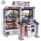 "42""52""coin operated large arcade shooting arcade game machine time crisis 4"