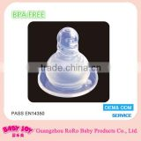 Manufacturer Liquid Non-Toxic Standard Size Transparent Food Grade Molding Silicone Baby Nipple Mold