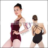 A2038 Crisscross back ballet girl leotard wholesale dance leotards women sexy ballet leotard
