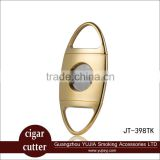 Guangzhou COHIBA Stainless steel cigar cutter double blade