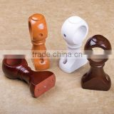 wood top mounted curtain bracket for curtain rod accessories