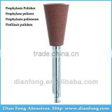 Ar106M Brown RA Shank Low Speed Cup Silicone Rubber Prophylaxis Polisher For Polishing Ceramic Dental Hygiene Degree