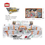 Metal BO racing car series, city tracks toys train for children