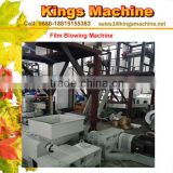PE Film Output Machine, Blown Plastic Film Extrusion Machine, Monolayer Fiixed Die Head Film Blowing Machine(Kings Brand)