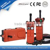 two transmitter one receiver F21-2S wireless industrial radio remote controls for CD electric chain hoist