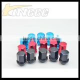 2015 New Hot Style Auto Racing Universal Alloy Wheel Lock Nut For Truck