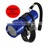 New Bicycle Flashlight Torch Light Bike Holder Mount Strap Sports Universal Grip