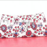 RTVC-004 Canvas Flowers Printed vintage Hand Clutch For Women