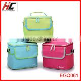 wholesale custom 2014 new arrival flexible lunch cooler bag with durable hard line tote shoulder allerbaby