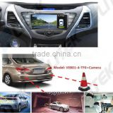 Car parking Sensor Type and DC 12V Voltage rear view camera for peugeot,rearview mirror optional