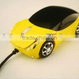 Cute car shape optical Mouse for kids