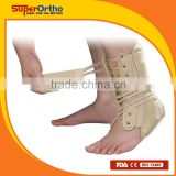 Orthopedic Ankle Support--- O9-001 Ankle Brace w/ Adj. Lace