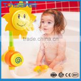 Wholesale funny set baby squirting bath toy