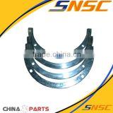 yuchai 6108/6105 engine spare parts 6108.P217 thrust washer main bearing,con rod bearing