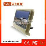 9 inch Headrest monitor Portable Universal with DVD player Car Back Seat LED Monitor