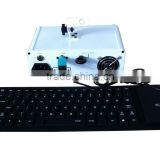 Mini writing typing animation laser light projector with free keyboard Reke-380-G