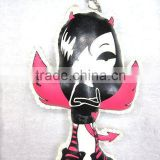 Button doll for keychain, cell phone strap