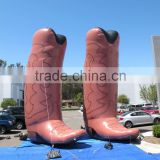giant large Inflatable cowboy boot Inflatable western booth Inflatable shoes Inflatable balloon