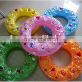inflatable kids swimming ring / Swimming trainer pool float Ring / swim ring