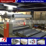 composite fire-resistant magnesite decoarating board equipment/mgo sandwich wall panel forming machine