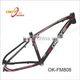 Fashionable aluminum frame in mountain bicycle OEM