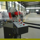 Single head welding machine PVC doors and windows machinery/PVC window door profile cutting saw