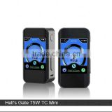 Hells gate 75watt 2inch tft screen box mod hell's gate 75w TC mini with 60 watt e cig box mod