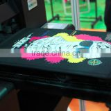 2015 new design best cheap Direct to Garment T-shirt Flatbed Printer T-shirt printing machine