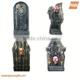 """PACKAGE OF FOUR FOAM REALISTIC TOMBSTONES INCLUDES 4 STYLES 16"""" (40.6 CM)"