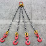 Rigging hardware connecting links, chains and hooks, crane lifting parts