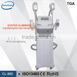 Most Popular!!!4 In 1 Portable Criotherapy Weight Loss Machine,Lipo Laser Fat Freezing Machine,Cavitation RF Slimming Machine