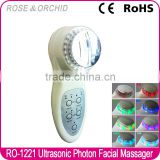 RO-1221 portable phototherapy ultrasound beauty machine / Handheld Skin Rejuvenation Equipment / ultrasonic skin care