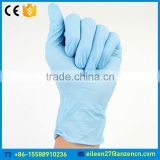 Factory Price Colored Medical Powder Free Nitrile Examination Glove For Sale