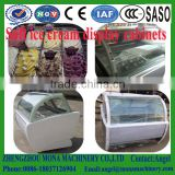 200L hard italian gelato batch cabinet case chiller refrigerator cooler ice cream display freezer