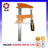 New and Popular Clutch Type Sliding Arm F Clamps with Wood Handle for Assembly Usage