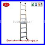 OEM&ODM customized Tread Aluminium Warehouse Step Ladder,Aluminum Straight Ladder access