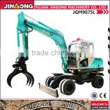 Agriculture machine JGM9075L wheel excavator machinery used