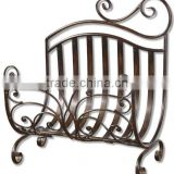 Metal letter Magazine Holder Rack
