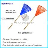 True Temper 23-in/ Small garden rakes are easy to carry/ This style of kids rakes are light weight